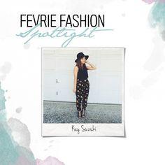 fevrie - Blog Fevrie Fashion Spotlight @floralandspice Fashion Blogger!
