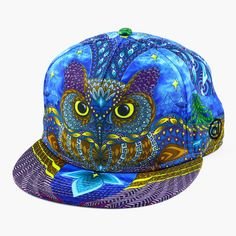 Yoru Owl Fitted Hat By Alternative Intelligence and Phil Lewis