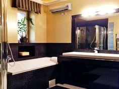 luxury home, luxury design, amazing home, dream bathroom, dark style