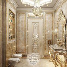 Interior Design and Home Decor Ideas Boutique Interior Design, Luxury Homes Interior, Luxury Home Decor, Interior Exterior, Home Interior Design, Villa Design, House Design, Lavatory Design, Classic Bathroom