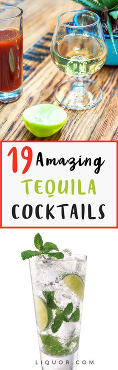 Trust us you need to try these #tequila #cocktails #cocktailrecipes