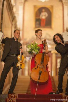 """In cooperation with """"Universität für Musik und darstellende Kunst"""" young talents perform in our HalleNsalon 1873 #imperialvienna"""
