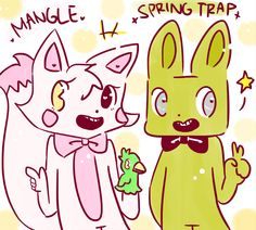 Image from https://lh3.googleusercontent.com/-iPY5-vdPYKs/VQOQxusdhAI/AAAAAAAAFa4/lkRLQO_Gu_w/w798-h718/mangle_and_spring_trap_by_sketchingandmore-d8jr9mu.png.