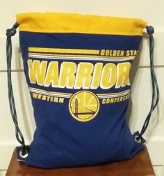 Golden State Warriors Backpack one of a kind is for Sale at FB AlamedaIslandGirl