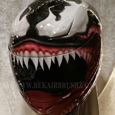 Airbrushed Motorcycle Helmets by REKairbrush