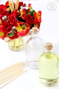 Arranjo Perfumado com essências Trouss Gold 50% e Flor de Marrocos 50%