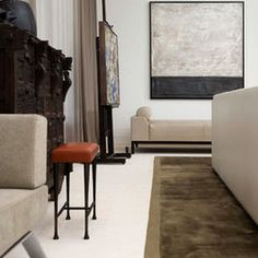 High Rise Residence - modern - living room - atlanta - Peace Design
