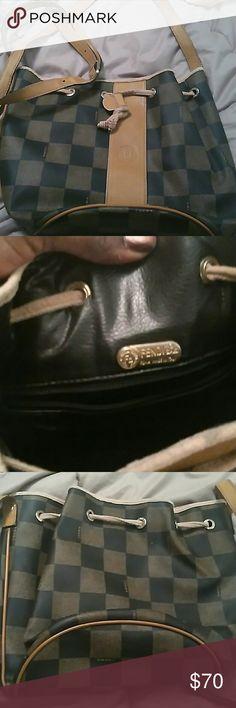 Fendi crossbody bag Some wear no tears but good condition Fendi Bags Crossbody Bags