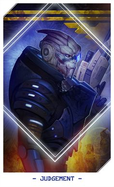 Mass Effect Tarot Cards - Created by Alteya