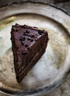 "Aztec Chocolate Cake ~ via this blog, ""Rústica""."