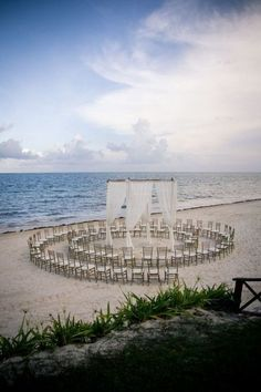 35 Dreamy and Creative Beach Wedding Ideas! – Page 10 of 35 – VimDecor 35 Dreamy and Creative Beach Wedding Ideas! – Page 10 of 35 – VimDecor,Hochzeit 35 Dreamy and Creative Beach Wedding. Beach Wedding Setup, Wedding Ceremony Seating, Wedding Set Up, Beach Wedding Inspiration, Beach Ceremony, Beach Wedding Decorations, Summer Wedding, Dream Wedding, Elegant Wedding