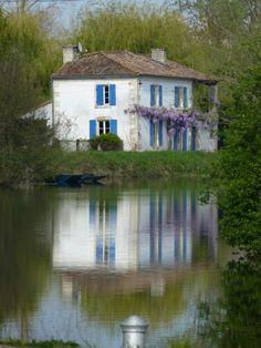 Marais Poitevin. France