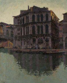 Walter Richard Sickert (1860–1942), The Rialto Bridge and Palazzo dei Camerlenghi, circa 1902-1904.