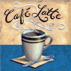 Café Latte - Karen Bates