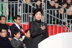 小池百合子都知事の2018年腹づもり…オリンピックや豊洲移転