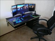 Best Custom Pc Gaming Computer Desk Ideas