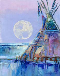 Find Winter Moon Rising by Carol Hagan