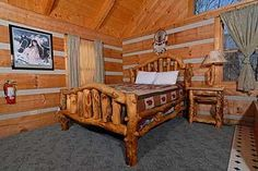 Pigeon Forge, TN: Pigeon Forge chalet rentals: Bit of Heaven, Bluff Mountain Acres Cabin 294 is a 1 bedroom, studio style, 1 bath cabin located about 5 miles from downt...