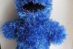 Free Crochet Cookie Monster & Elmo Patterns