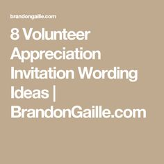 14 unique 40th birthday party invitation wording ideas 40th 8 volunteer appreciation invitation wording ideas stopboris Image collections
