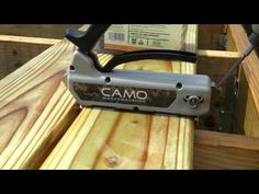 CAMO Hidden Deck Fastening System - YouTube