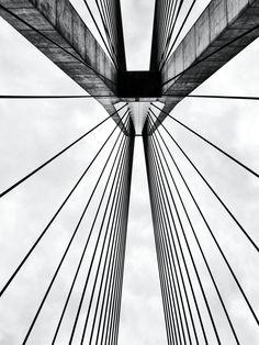 Anzac Bridge Australian Muscle Cars, Sydney, Bridge, Abstract, Artwork, Photography, Summary, Work Of Art, Photograph