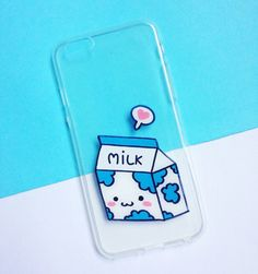 Hand painted Milk phone case - iPhone 6 case clear- iPhone 6 case - iPhone 6s case - Pokemon Phone Case - Samsung Galaxy S7 Edge Case sold by Mint Corner. Shop more products from Mint Corner on Storenvy, the home of independent small businesses all over the world.