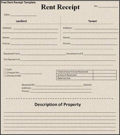 Free House Rental Invoice | Click On The Download Button To Get This Rent  Receipt Template  Free House Rent Receipt Format