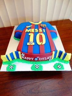 Barcelona Football Shirt Cake xMCx