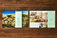 Luana by PowerPlay Destination Properties - Free Agency Creative Print Design, Graphic Design, Brochure Design, Vancouver, Color Schemes, Typography, Real Estate, Branding, Creative