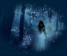 Heavenly unicorn elfin magic that makes little...