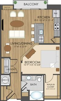650 Square Feet Floor Plan Rental Starts 525 00 With