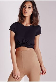 18d261f06a16d Go back to basics in this classic style crop top