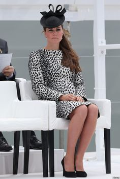 Kate at naming of the princess royal
