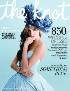 Just love this cover  The Knot cover - fall 2013