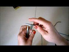 Πλέξιμο με βελόνες (για αρχάριους) - YouTube Knitting Patterns, Videos, Embroidery, Stitch, Beads, Youtube, Sewing, Creative, Crafts