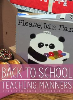 Teaching manners is