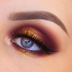 Women is close to make up. They crazily love to do make up since it adds attractiveness of the whole face. Surely make up can bring women more beautiful and adorable. There are some smart…Read Makeup Eye Looks, Eye Makeup Tips, Smokey Eye Makeup, Cute Makeup, Makeup Goals, Gorgeous Makeup, Eyeshadow Makeup, Makeup Inspo, Makeup Ideas