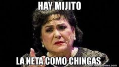 Memes Funny Espanol Chistes Carmen Salinas 50 New Ideas Memes Humor, New Memes, Man Humor, Memes Funny Faces, Funny Jokes, Hilarious, 9gag Funny, Mexican Memes, Mexican Funny