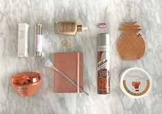 Tiffany's Tips • Gold Medal Beauty Bag Products Olympic Winners, Health Tips, Tiffany, Bag, Gold, Beauty, Products, Purse, Cosmetology