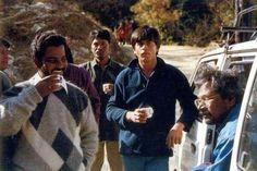SRK on the set of Dil Se.