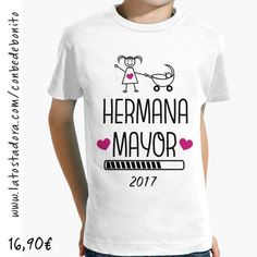 Camiseta Hermana Mayor 2017 Blanca