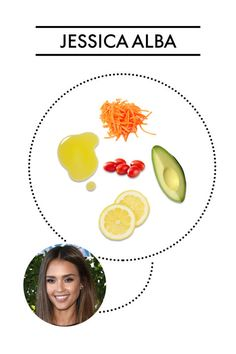 What Jessica Alba and 13 of our other favorite celebrities put in their salads: