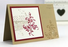 Pootles' SpringWatch Customer Thank You Cards Close Up