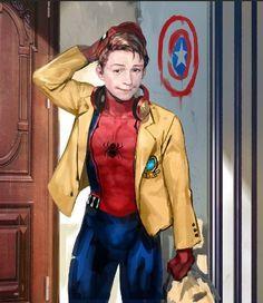 spider man home coming art by. Akcho (성 수민) facebook : https://www.facebook.com/tjdtnals