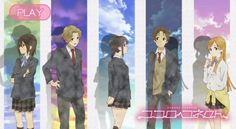 Kokoro Connect I'm like Nagase and Inaba mixed into one person. Tia Dalma, Kokoro Connect, Otaku, 5 Years With Exo, Body Swap, D Gray Man, Light Novel, Manga, Neko