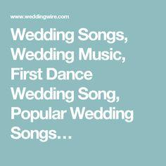 Wedding Songs Music First Dance Song Popular
