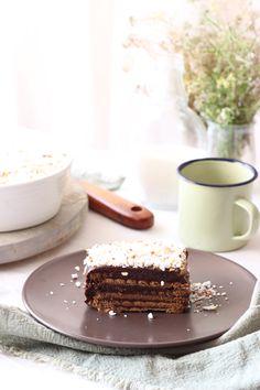 Tarta clásica de galletas: LA RECETA. No te la pierdas! Nutella, Cookies Receta, Icebox Cake, Bakery Recipes, Desert Recipes, Chocolate Desserts, I Foods, Sweet Tooth, Sweet Treats