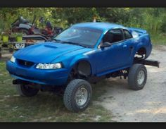 Apparently 4x4 Mustangs are a Thing