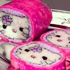 Hello Kitty sushi ♥